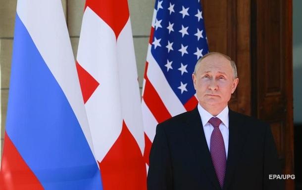 Путін розповів про переговори з Байденом