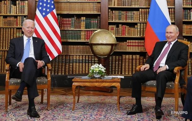 Смотреть онлайн встречу Путина и Байдена