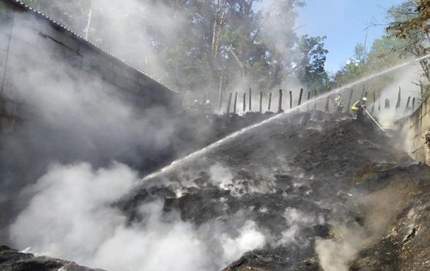 У Києві під час навчань поліції почалася пожежа