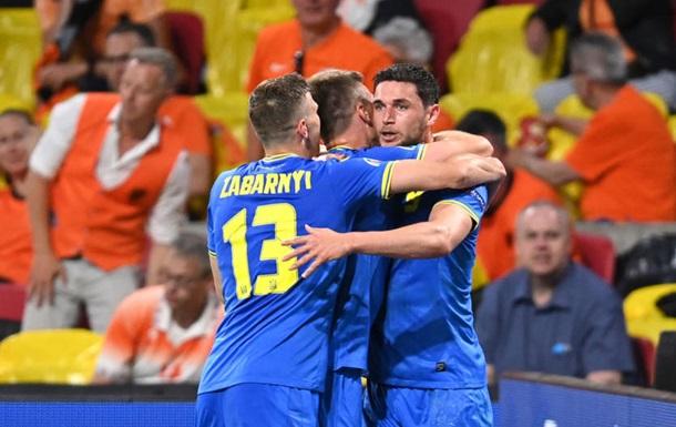 Украина - Северная Македония 2-1. Онлайн Евро-2020