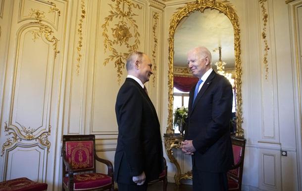 У Путіна заявили про розбіжності у поглядах з Байденом щодо Білорусі