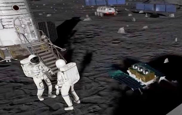 Китай и РФ представили проект лунной станции