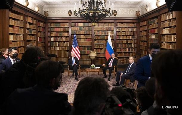 Кремль оцінив саміт Байден-Путін  зі знаком  плюс
