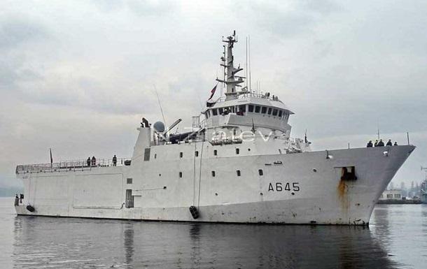 Разведывательный корабль ВМС Франции вошел в Черное море
