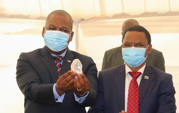 Рекорд в истории алмазов: в Ботсване нашли крупный камень