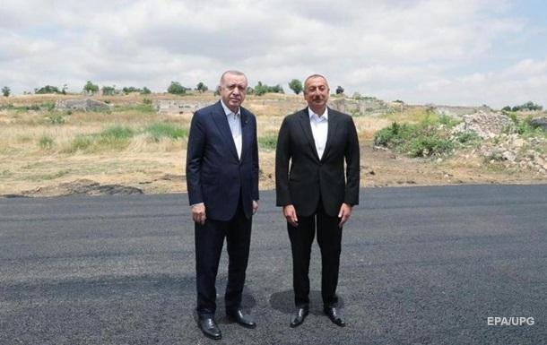 Ердоган заговорив про військову базу Туреччини в Азербайджані