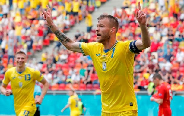 УЕФА назвал лучшего игрока матча Украина - Северная Македония