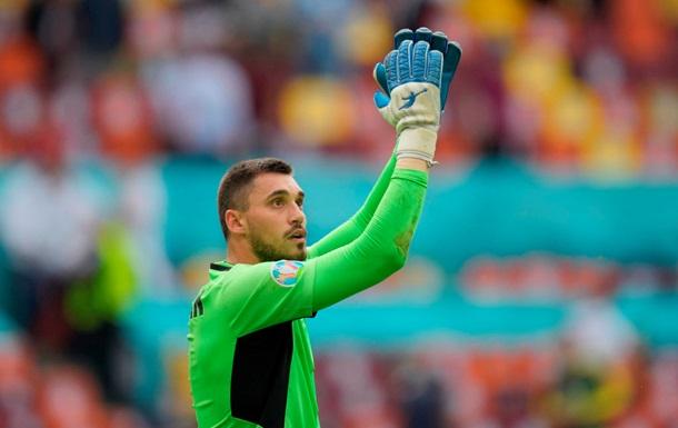 Бущан - лучший игрок сборной Украины в матче против Северной Македонии по версии WhoScored