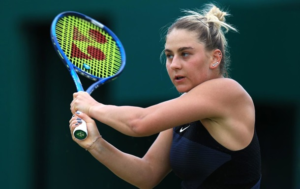 Костюк потерпела поражение во втором круге турнира в Бирмингеме