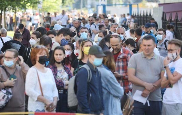 В Украине сократилась заболеваемость COVID