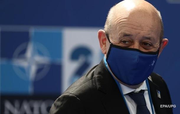 Умови для прийому України в НАТО не склалися - глава МЗС Франції