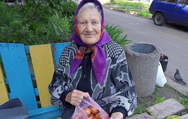 У Кривому Розі  благодійники  роздавали пакети цибулі