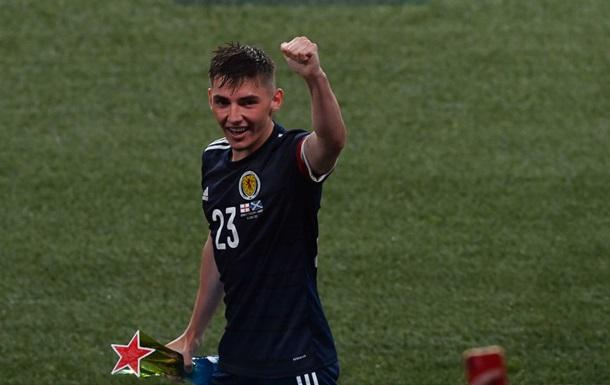 Гилмор - лучший игрок матча Англия - Шотландия