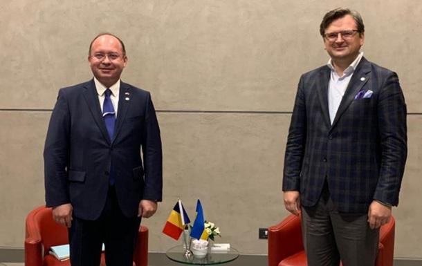 Кулеба і Ауреску обговорили ситуацію в Чорному морі
