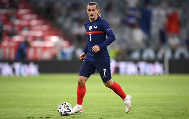 Гризманн вышел на поле в 50-м матче подряд за сборную Франции