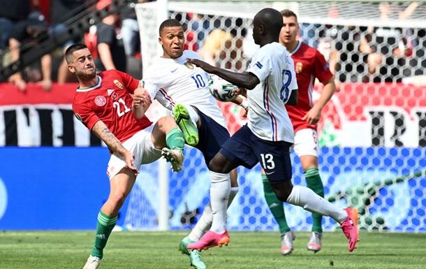 Франція сенсаційно не змогла обіграти Угорщину на Євро 2020