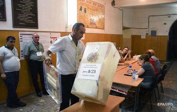 У Вірменії оголосили результати виборів до парламенту