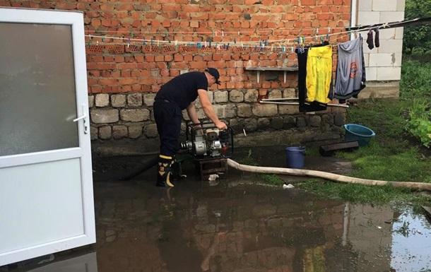 В Украине подтоплены почти 250 домов