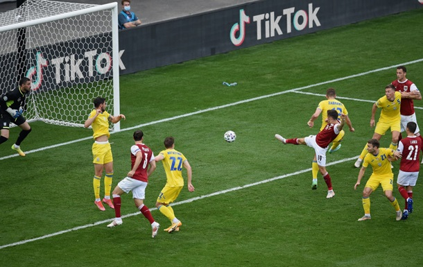 Україна пропускала в кожному матчі на Євро за всю свою історію