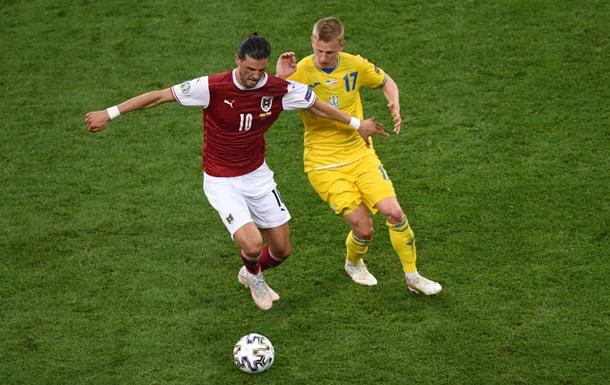 УЄФА назвав найкращого гравця матчу Україна - Австрія