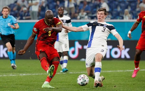 Бельгія впевнено обіграла Фіняндію