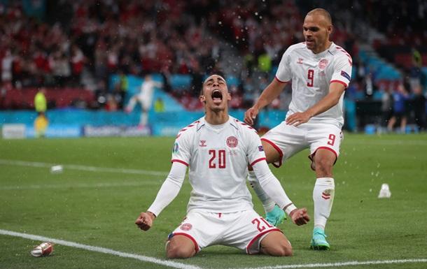 Росія  програла Данії і покинула Євро-2020