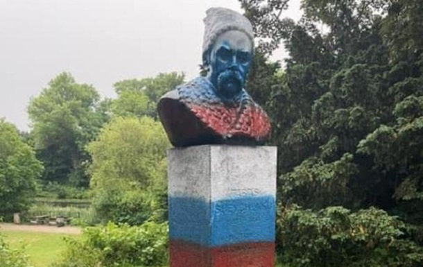 В Копенгагене надругались над памятником Шевченко