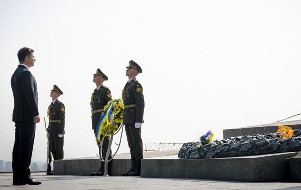 Зеленський вшанував пам ять загиблих у Другій світовій