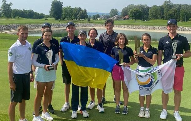 Українські гольфістки зайняли призові місця на чемпіонаті в Хорватії