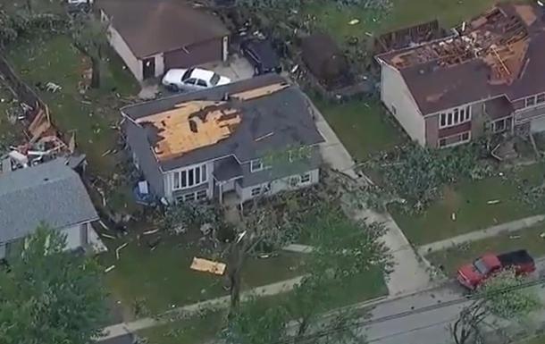У Чикаго торнадо викликав масові руйнування