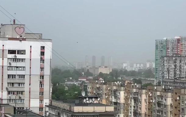 Смог в Киеве сегодня