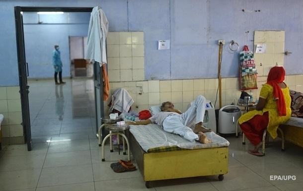 В Індії новий штам коронавірусу виявили в трьох штатах