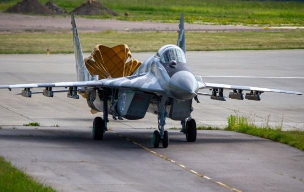 Українські військові отримали модернізований винищувач МіГ-29