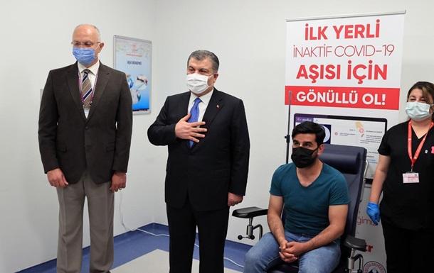 Туреччина почала третю фазу випробувань власної COVID-вакцини
