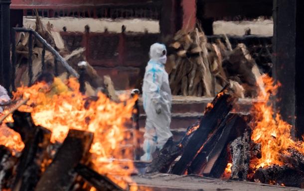 Украина под угрозой.  Злой  штамм COVID из Индии