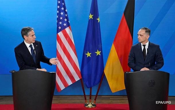 Маас и Блинкен обсудили Украину и СП-2