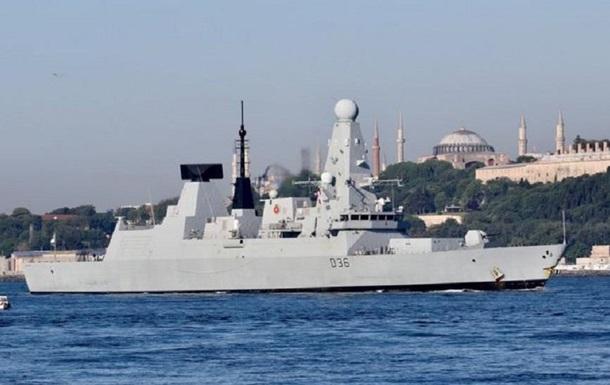 """Находившийся на борту эсминца журналист BBC рассказал об """"атаке"""" россиян - (видео)"""