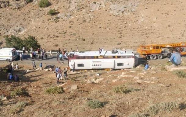 В Ірані в ДТП з автобусом з журналістами загинули три людини