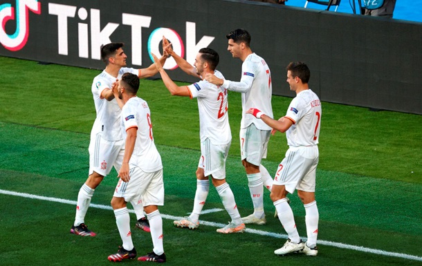 Збірна Іспанії познущалася над Словаччиною у фінальному матчі групи