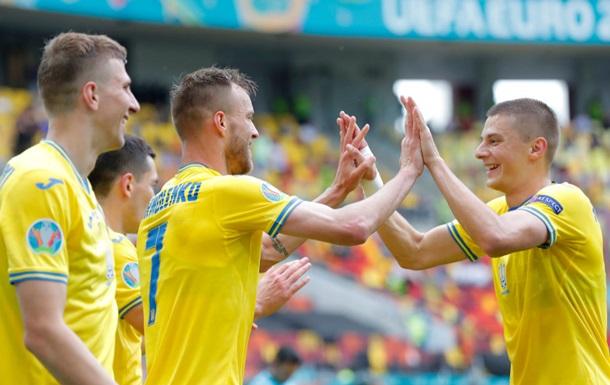 Реакция сборной Украины на выход в плей-офф Евро-2020: видео