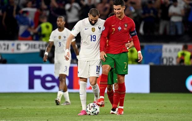 Португалия и Франция разошлись миром в боевом матче