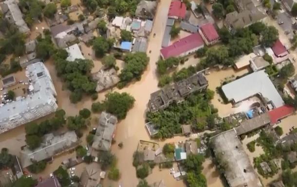 На відео показали наслідки паводків у Криму