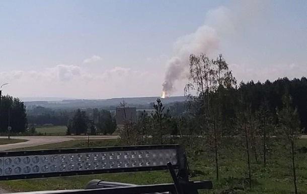 В Башкирии загорелся склад с порохом