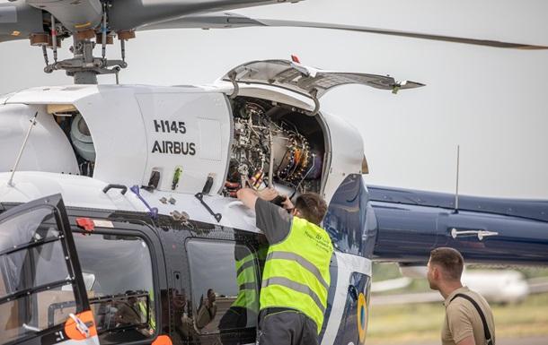 Полиция получила четвертый французский вертолет