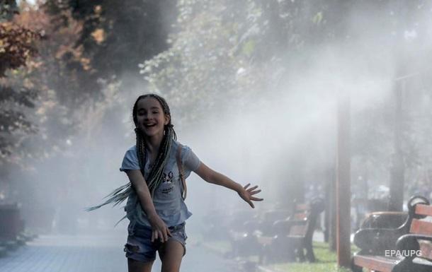 В Киеве зафиксированы два температурных рекорда