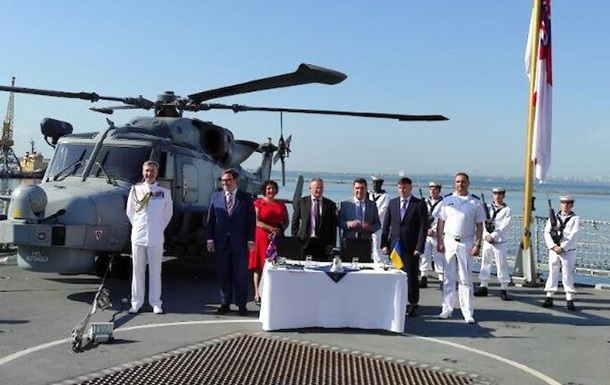 Новая веха в украинско-британских отношениях: вместе строим украинский флот
