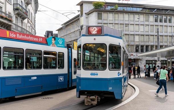 В Цюрихе в трамвае умер пассажир и шесть часов находился на маршруте