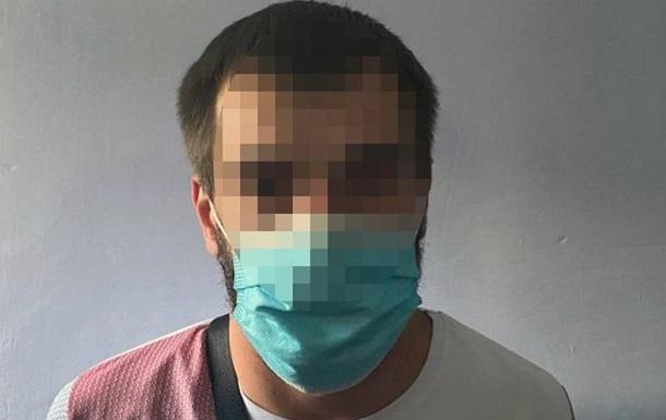 В Киеве задержали грабителя обменника