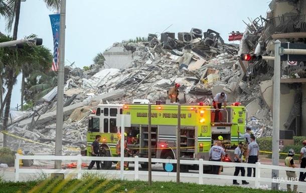 Обрушение многоэтажки во Флориде: объявлен режим ЧС