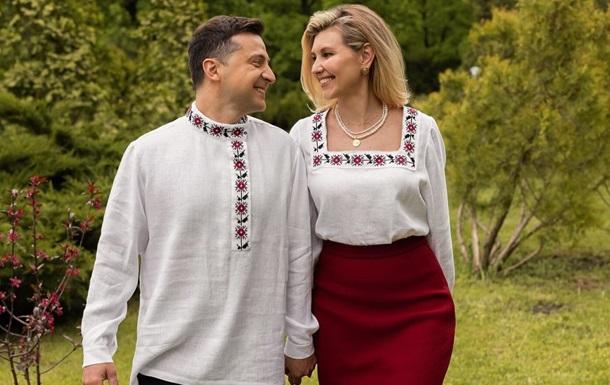 Зеленский о жене: Она – серый кардинал у нас дома